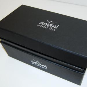 Shoulder hinged lid branded box