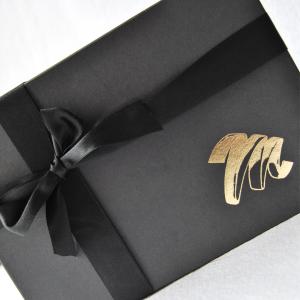 Gold foiled logo