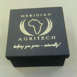 Foil branded box