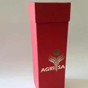 Foiled wine box