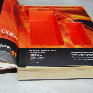 Book box with product dividers