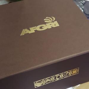 2 Spot gold foiled packaging