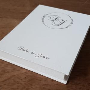 Foiled invitation box