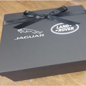 Silk screened branded boxes