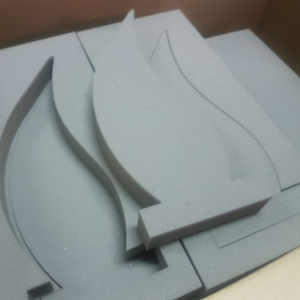 Laser cut foam protection inner