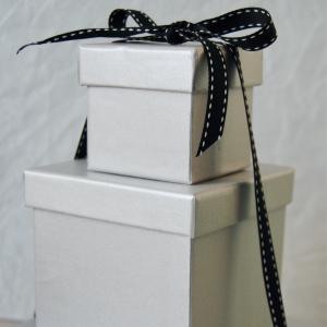 Pretty silver boxes