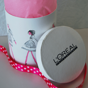 Cosmetic launch box