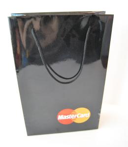 Black gloss bag