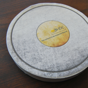 Printed hat box