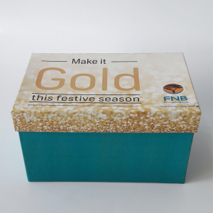 Corporate branded box
